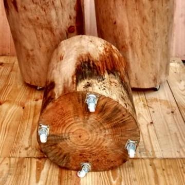 tora de madeira,banco madeira,tronco personalizado,promocao