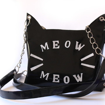 Bolsa tote versatil gato Meow Meow