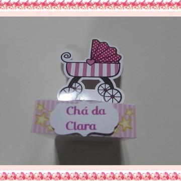Kit para cha de bebê - rosa