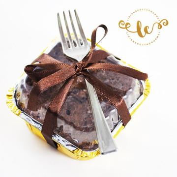 Fudgy brownies gourmet (na marmitinha)
