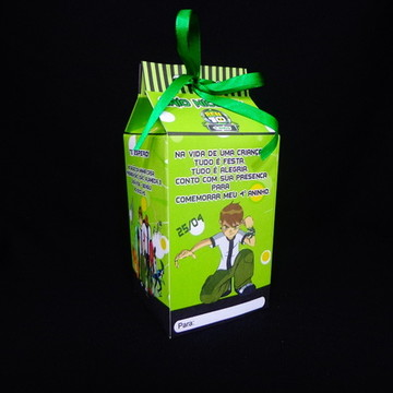 Caixa Milk do Ben 10