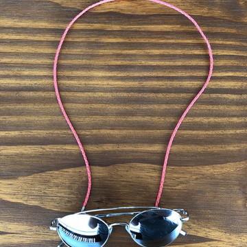 Cordinha de óculos trançada pink