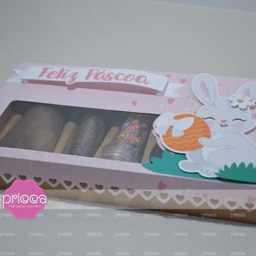 #0483 : Molde Caixa mini confeiteiro para ovo 50grs com arte