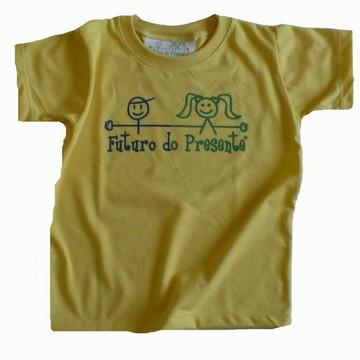 Camiseta Infantil malha PET Futuro AM