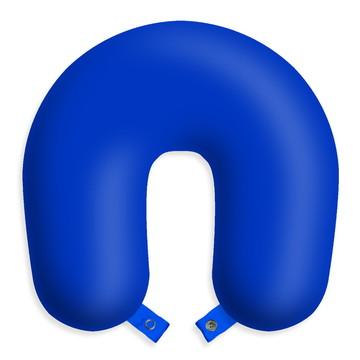 Travesseiro de pescoço Azul - almofada viagens e descanso