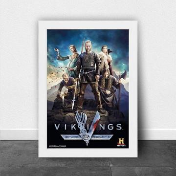 Quadro/Poster ViKings poster