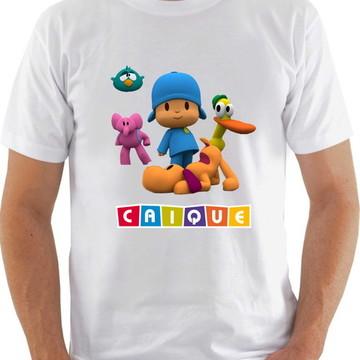 Camisa personalizada - Pocoyo + nome