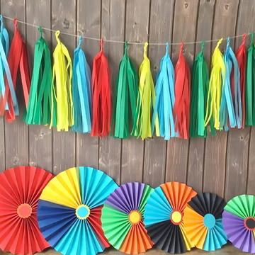 Fioratas e Varal de Franjas FESTA FRIDA Style