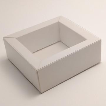 Pack com 5 Caixas para 4 BomBons - Borda 1,5cm