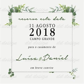 Convites Personalizado 9 Digital Top Casamento Lindo