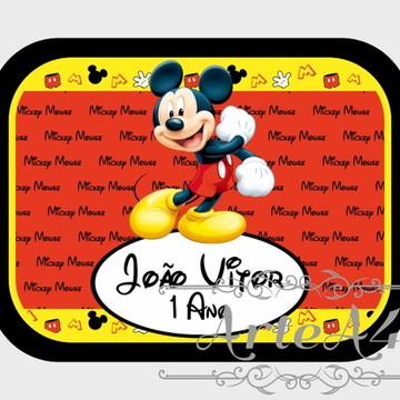 Adesivo Rótulo para Mamitinha Lembrancinha Mickey