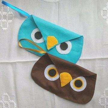 Clutch (Porta Óculos) Coruja
