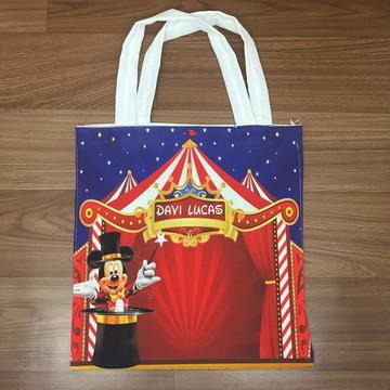 Bolsa Personalizada - Circo do Mickey