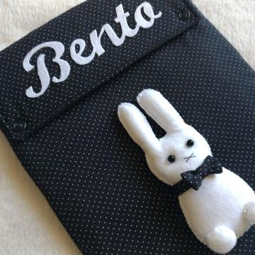 Capa caderneta vacina coelho Miffy