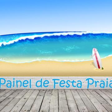 Painel de Festa Praia