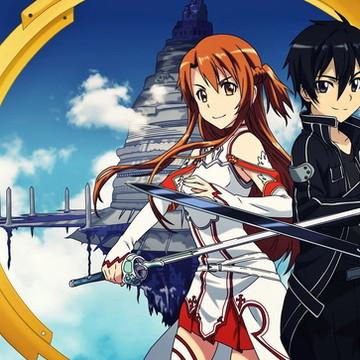 Painel 2x1 Sword art online