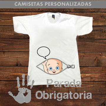 4370bb9551 Camisetas Personalizadas Gestante