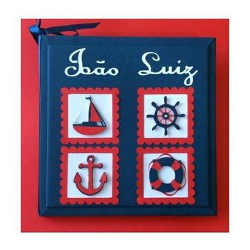 Livro Do Bebê marinheiro personalizado para menino