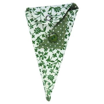 Porta Alicate de Cutícula Arabesco Verde