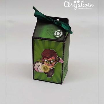 Caixa Milk Lanterna Verde