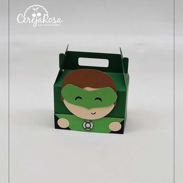 Caixa Lanterna Verde
