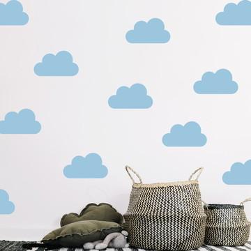 *Adesivo nuvens