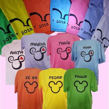 Camiseta Personalizada - Disney