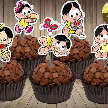 50 toppers para doces Magali Baby