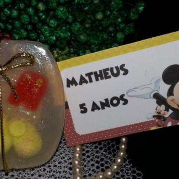 Sabonete Roupa do Mickey