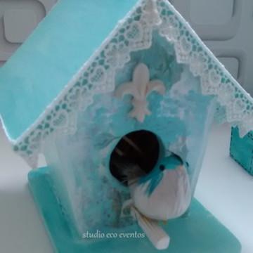 Casa de passarinho - decoração festa infantil