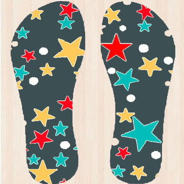 Chinelo Estrelas