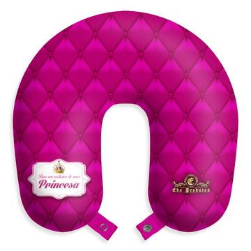 Travesseiro de pescoço almofada para viagens Princesa