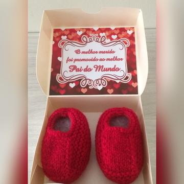 Caixinha Surpresa - anúncio de gravidez Papai