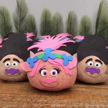 Boneco ecológico -Trolls