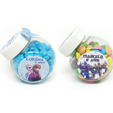 Mini Baleiro personalizado - Lembrancinha Infantil