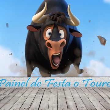Painel de Festa O Touro Ferdinando