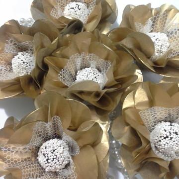 Forminhas para doces papel seda