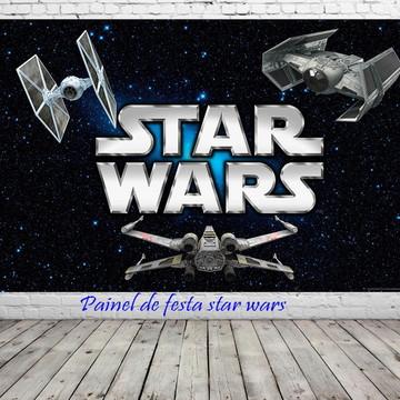 Painel de festa Star wars