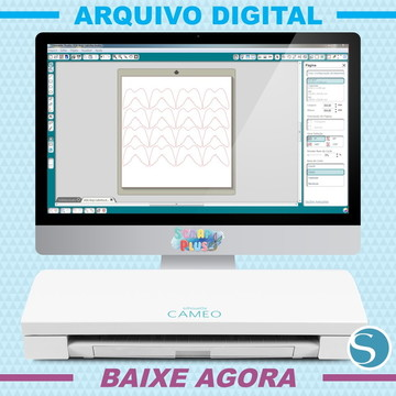 Arquivo De Corte Silhouette Scrap - Asas De Anjo / Latinha