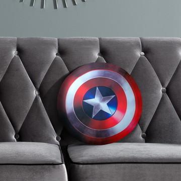 Almofada Escudo Capitão América - Herói