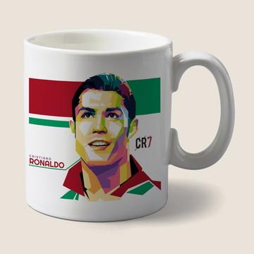 Caneca Cristhiano Ronaldo CR7