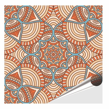 Adesivo Azulejo Decorativo - Azulejo Adesivo Kit Mandala