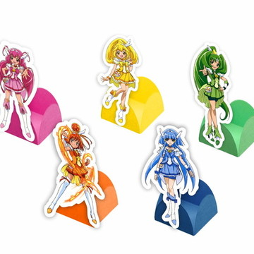 Forminhas Glitter Force