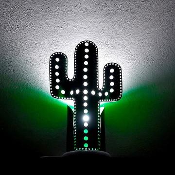 Cacto Mandacaru Luminoso- Luminárias esotéricas