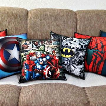 Kit de almofadas super heróis, vingadores