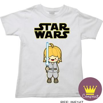 Camiseta Infantil Star Wars Anakin Skywalker 03