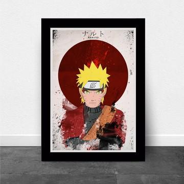 Quadro/poster Naruto Anime
