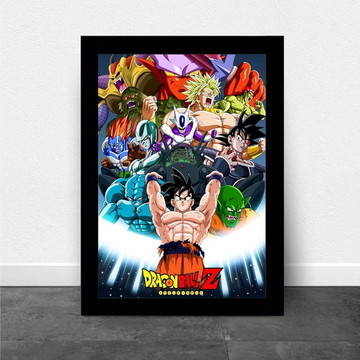 Quadro/poster Dragonbalz Anime