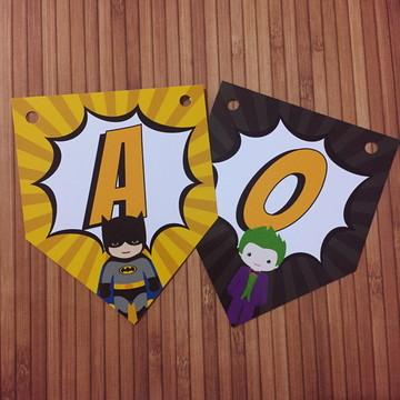 Bandeirola Batman