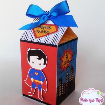 Caixa Milk Super Man